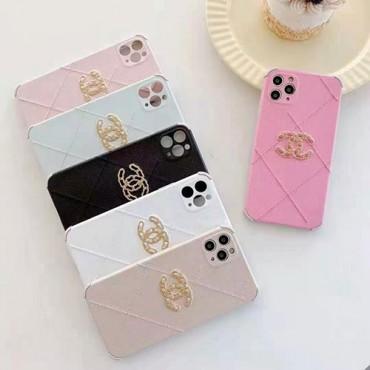 シャネル ブランド刺繍子羊の皮iphone12 /12 pro/12 mini/12 pro maxケース韓国風iPhone 11/11 pro/11 pro maxケースChanel経典ロゴiPhone x/xs/xs maxケースブランド