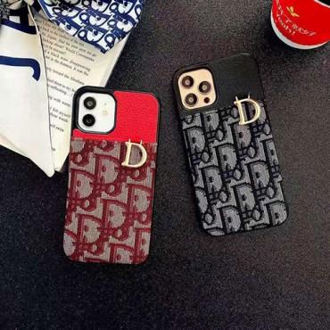 ディオール風カード収納 iphone12/12pro max/12 pro/12 miniケース かわいい女性向け iphone xr/xs maxケースレディース iphone xs/se2/8 /7plusケース ファッション経典 iphone11/11pro maxケース ブランド