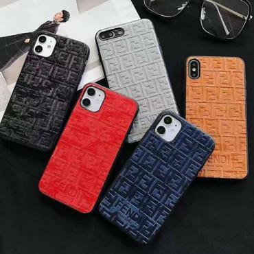 フェンデイ ブランド iphone12/12pro maxケース かわいい ビジネス  個性潮  iphone x/xr/xs/xs max/8plusケース ファッション Iphone 11/11pro max/7plusカバー  レディース