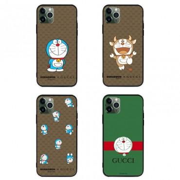 グッチ ブランド ちりん猫模様iphone12/12pro maxケース かわいいパロディ風コピースマホカバーファッション セレブ愛用  Galaxy s20/note20/s10/s9 plusケース全機種対応 HUAWEI Mate 30 Pro 5Gケース大人気