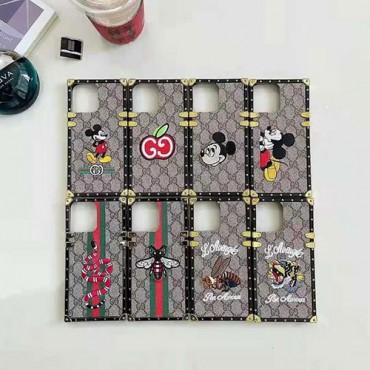 グッチ ブランドiphone12/12pro max/12 mini/12 proケース皮革の色の絵の刺繍ケース iphone11/11pro/11 pro maxケース男女兼用人気 iphone xr/xs maxケース韓国風