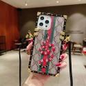 グッチ ブランドiphone12/12pro max/12 mini/12 proケースかわいい絵柄の刺繍ケース iphone11/11pro/11 pro maxケース男女兼用人気Galaxy s10/s20/s20+/s20ultraケース韓国風iphone xr/xs maxケース