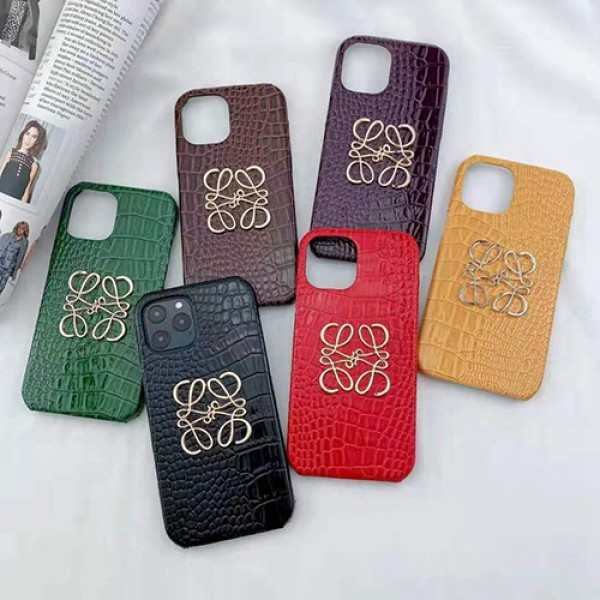 ロエベ ブランドワニ革iphone 12/12 pro/12 mini/12 pro maxケーススーパーコピーアイフォン 11/11pro/11pro max カバーloewe シンプルiphone x/xr/xs/xs maxケースパロディ風 新品iphone 7/8 plus/se2ケース 大人気
