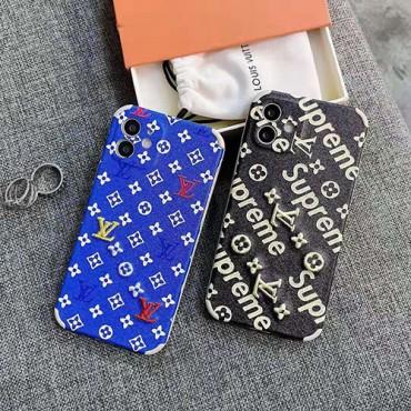 ルイヴィトン ブランドIphone xr/12/12pro maxケース ins風 シュプリームiphone11/11pro max/se2ケース かわいい個性潮 ファッション iphone12 pro/11pro/xs max/8/7plusケース 高級 人気モノグラム