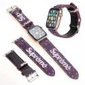ルイヴィトン ブランドアップルウォッチ バンドファッション人気  apple watch ストラップ  シュプリーム高級apple watch バンドブランド