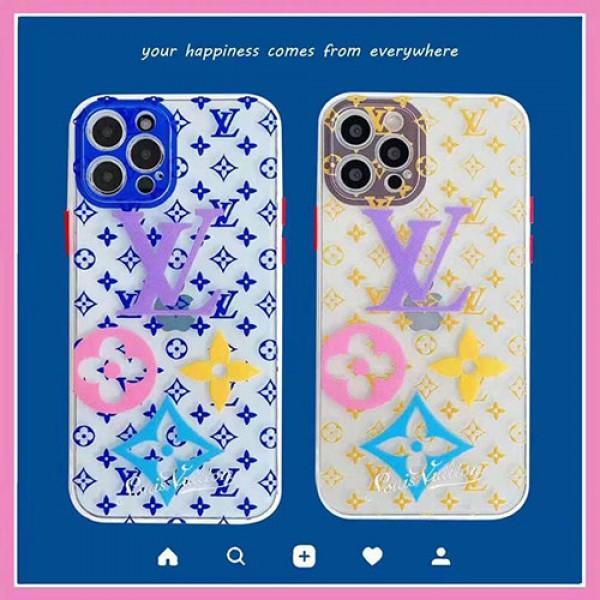 ルイヴィトン ブランドiphone12/12pro max/12 mini/12 proケース透明 モノグラム iphone xr/xs maxケースLV風ブランドお洒落 iphone 11/11pro max/8/7 plus人気新品