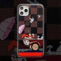 ルイヴィトン ブランドiphone12/12pro max/12 mini/12 proケース漫画風 iphone11/11pro/11 pro maxケースLV男女兼用iphone xr/xs maxケース人気 保護ケース