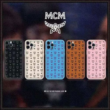 エムシーエム ブランド iphone12/12pro maxケース かわいい個性潮 iphone x/xr/xs/xs maxケース ファッションins風 iphone12ケースケース かわいいレディース iphone xs/11/8 plus/se2ケース おまけつき