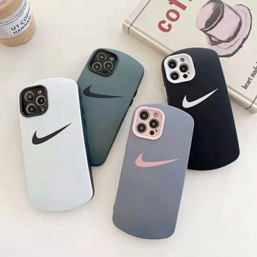 ナイキ ファッションiphone12/12mini/12pro maxケースマウス型スマホケース 激安ins風iphone 7/8/se2ケース かわいいiphone xr/xs max/11proケースNikeロゴつき iphone11/11pro maxケース ブランド