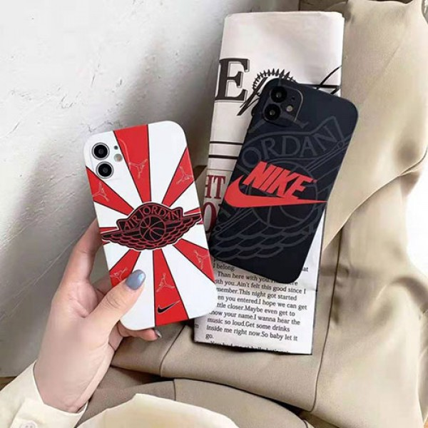 ナイキ ブランドiphone12/12pro max/12 mini/12 proケースジョーダン 運動風 iphone11/11pro/11 pro maxケース男女兼用人気iphone xr/xs maxケース個性潮流iphone de2/8/7plusケース