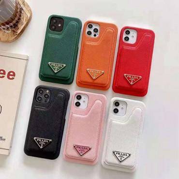 プラダ ブランド個性潮 Iphone 12 /12 pro/12 mini/12 pro maxケース パロディシンプルiphone x/xr/xs/xs maxケース コピースマホカバーファッション 潮流2021 iphone11/11 pro maxケース ブランド高級 人気 レディース 向け