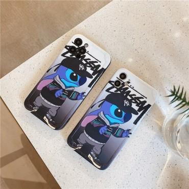 ステューシー ブランド iphone12 /12pro/12pro maxケース個性潮 Iphone11/11pro Maxケースファッションメンズ  Iphone7/8 Plus/Se2ケース かっこいい iphone x/xs/xr/xs maxケース安い