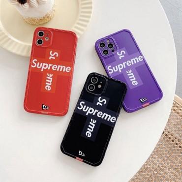 シュプリーム ブランドiphone 12 mini/12 pro/12 pro maxケース ファッション セレブ愛用iphone11/11pro maxケースコピーカバー簡約iphone xr/xs maxケースブランドファッション個性