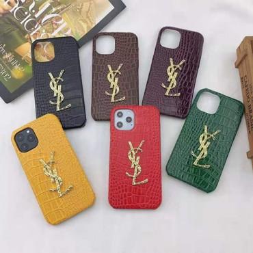 イブサンローラン ブランドワニ革iphone 12/12 pro/12 mini/12 pro maxケーススーパーコピーアイフォン 11/11pro/11pro max保護 カバーパロディ風 新品iphone se2/6/7/8 plus携帯ケース