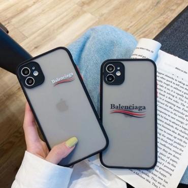 バレンシアガ ブランドiphone 12 /12 pro/12 mini/12 pro maxケース 個性潮流iphone11/11pro/11pro maxケースオシャレ人気 iphone x/xs/xr/xs maxケース男女兼用iphone se2/8/7 plusケースファッション