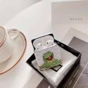 インスタグラム風 Gucci airpro pods1/2ケース 収納 漫画 可愛い ゾン カエル スヌーピー柄など グッチ エアーポッズ プロ1/2ケース全機種対応 おしゃれ可愛い メンズ レデイーズ 激安 韓国