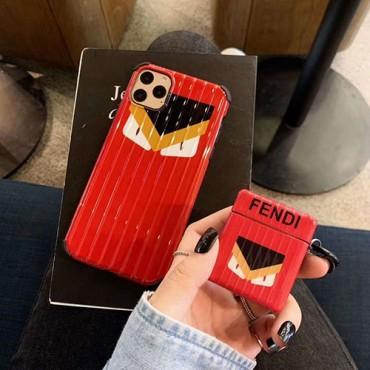 Fendi iphone12/11/11 pro/11 pro max/se2ケース airpodspro1/2ケース ブランド 人気 フェンディ アイフォン アイフォンx/xs/xr/8/7カバー 充電 エアーポッズ 1/2ケース高級 カップル ins風 韓国