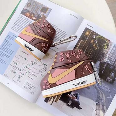 靴型 LV/ルイヴィトン Nike/ナイキ airpods proケース おしゃれ 韓国 ブランド 全機種対応 メンズ レデイーズ エアーポッズ プロ1/2ケース インスタグラム風 送料無料 激安 シリコン製 芸能人