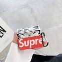 シュプリーム AirPods pro1/2ケース Air Pods 専用 男女兼用 充電 人気 supreme エアーポッズケース便利 軽量 潮流 カップル インスタグラム風 韓国  ブランド 送料無料 激安 インスタグラム風