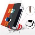 Kawsおしゃれ高品質なapple ipad2/3/4/5/6/7レザーケース可愛い 頑丈 軽量iPad mini5/4/3/2保護ケースコピーブランドカウズiPad air2/pro 9.7/10.5/11 インチケース