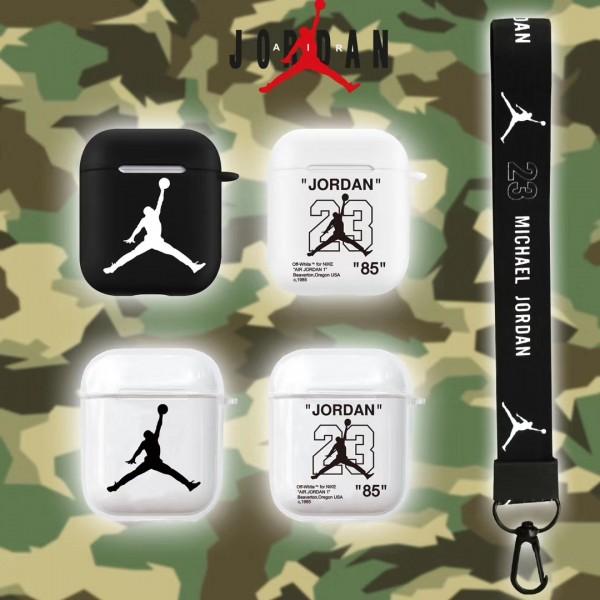 透明 ジョーダン airpods pro1/2ケース 通販 メンズ レデイーズ 運動風 ブランド  かっこいい  衝撃 Jordan  エアーポッズ プロ1/2ケース ストラップ付き 高級 耐衝撃 全機種対応 防塵  芸能人 ファッション 激安 充電可