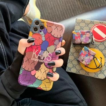 KAWS iphone 12/11/11 pro/11pro maxケース かわいい TPU 人気 カバー スーツケース airpods pro1/2ケース かっこいい アイフォンx/xs/xr/8/7カバー 耐衝撃 防塵 創意 カップル  プレゼント