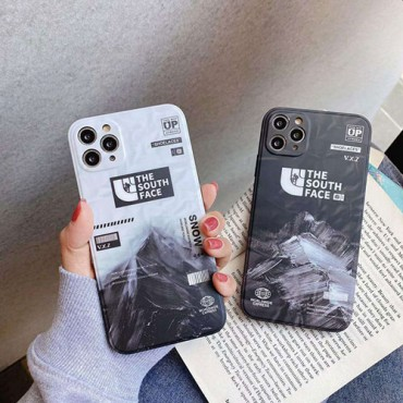 iphone12/11pro max/se2ケース The south face ブランド 韓国 人気  TPU 通販 耐衝撃 レディース 携帯 アイフォンx/xs/xr/8/7カバー プレゼント インスタグラム風 おしゃれ 可愛い