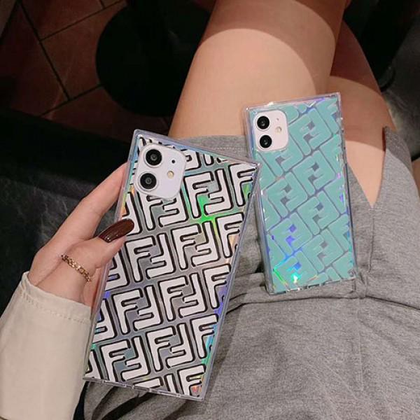 韓国 Fendi iphone12/11/11pro/11pro max/se2ケース シンプル フェンディ 高級 アイフォンx/xs/xr/8/7カバー 大人気 ブランド 男女対応 通販 送料無料 おしゃれ FF柄ブランド