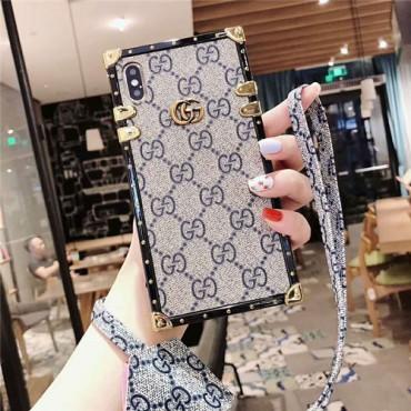 Gucci iphone 12mini/iphone 12/iphone 12 pro/iphone 12 pro max+ケース グッチ ハイブランド Iphone Xr/Xs Maxケース トランク型 ギャラクシーストラップ付きアイフォン 12/12pro/12 pro maxケースメンズレディース向け