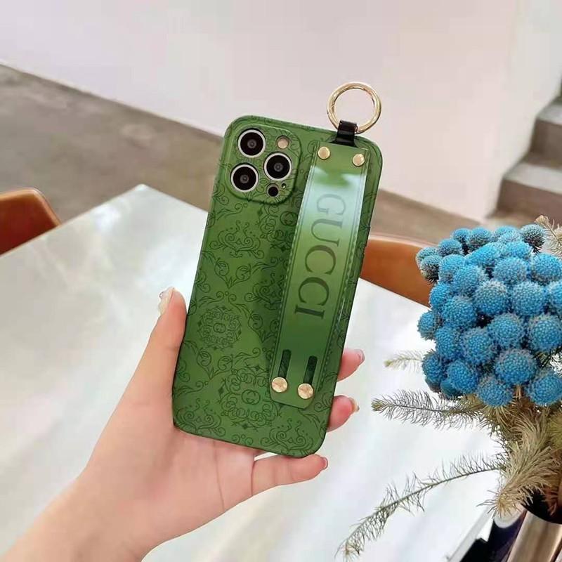 グリーンスマホケース男女兼用iphone11/11promaxケース