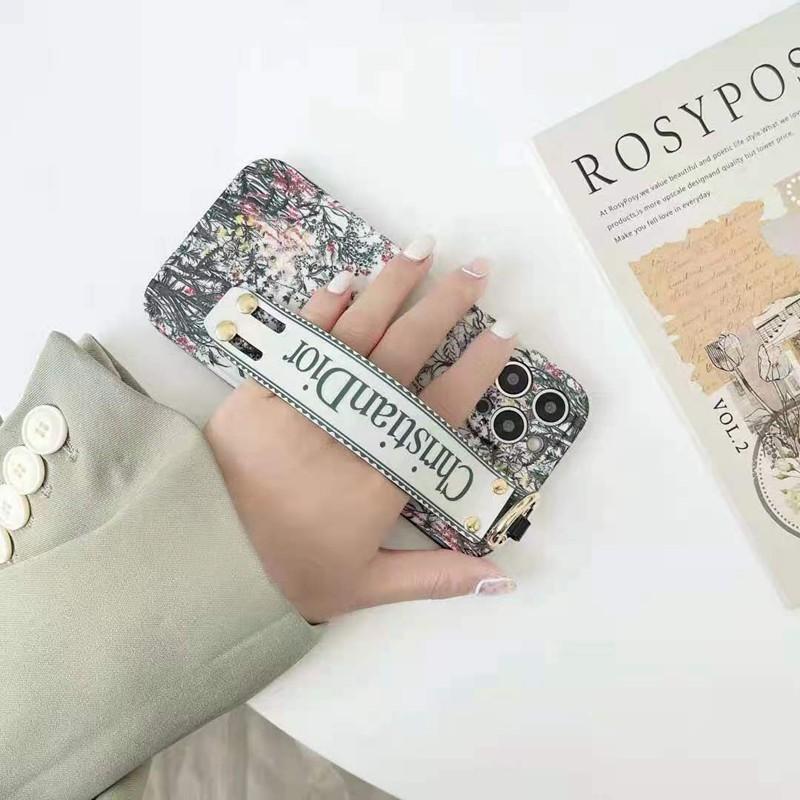 Diorおしゃれ花柄iphone11/11promax/11proケース