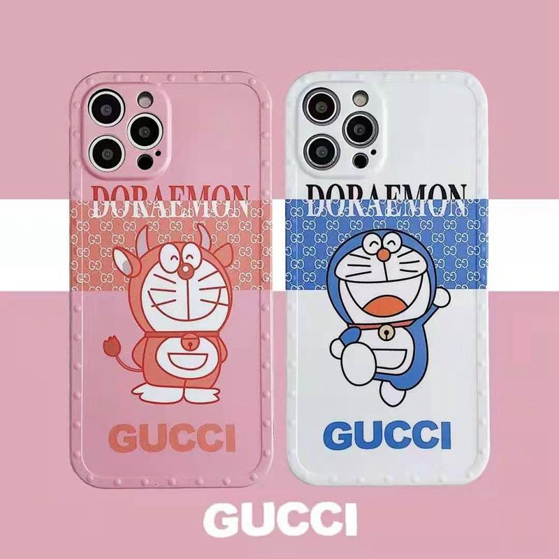 Gucciかわいいポコニャン絵柄iphone11/11promax保護ケース