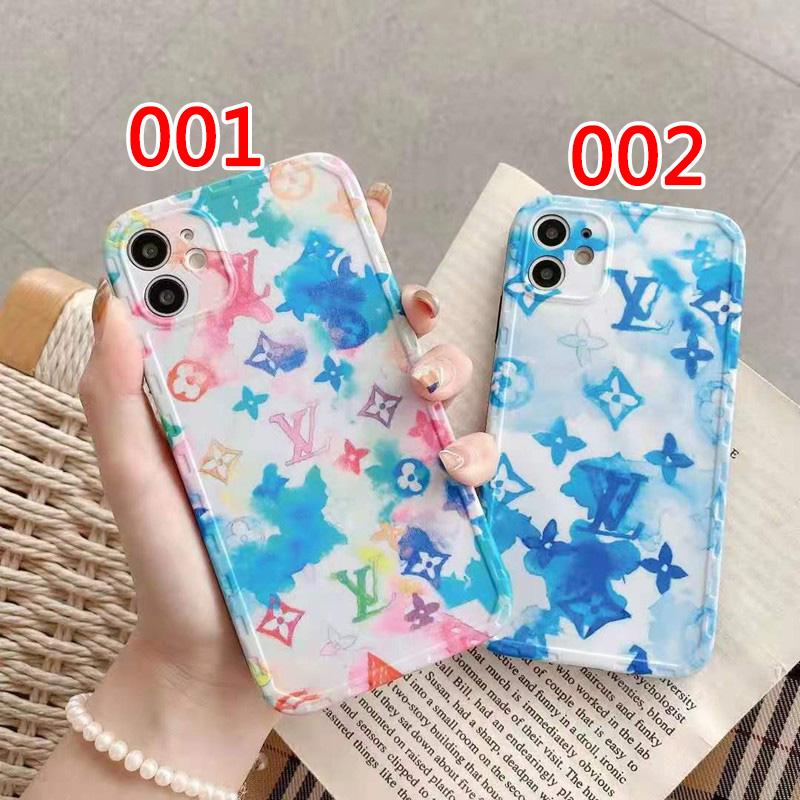 ルイヴィトンブランド夏風iphone12/12promax/12mini/12proソフトケース