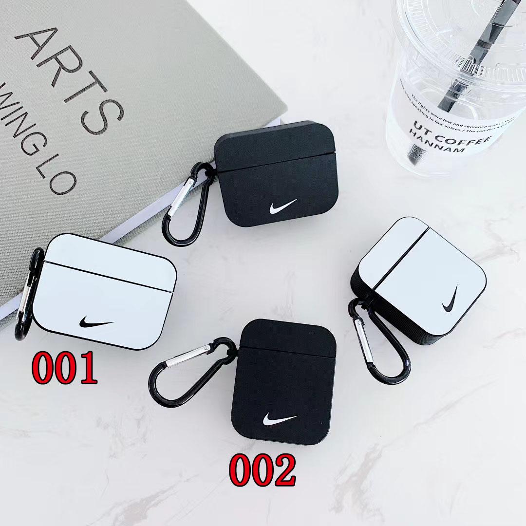 激安 通販 持ち便利 シリコン製 Nike airpods pro1/2ケース