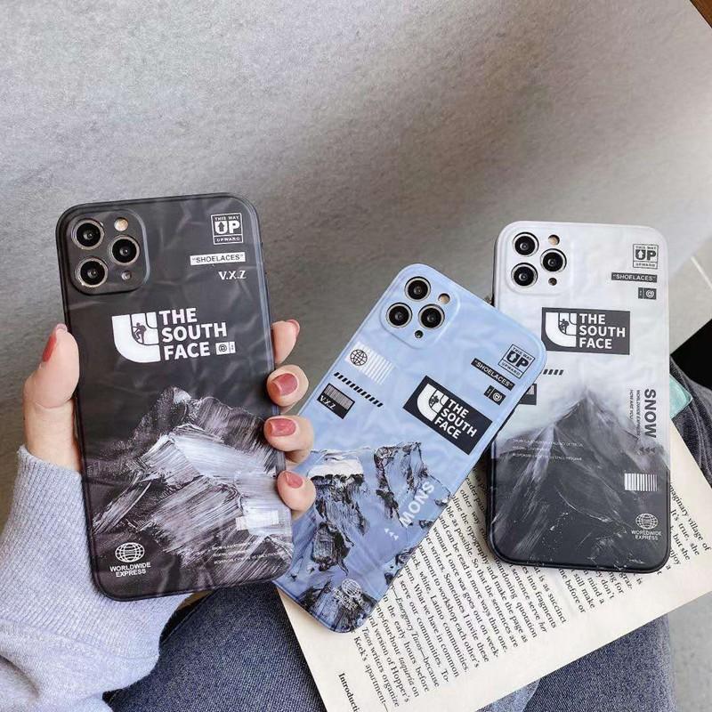 iphone12/11pro max/se2ケース The south face ブランド