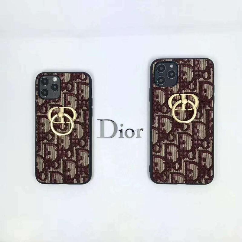 手帳型 Dior iphone12/11pro max/se2ケース コピーカード 収納