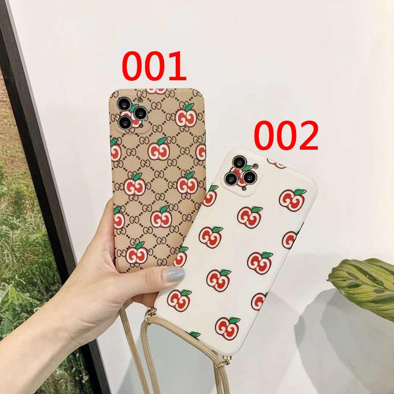 グッチ女性向け iphone12/8/se2/7 plusケース